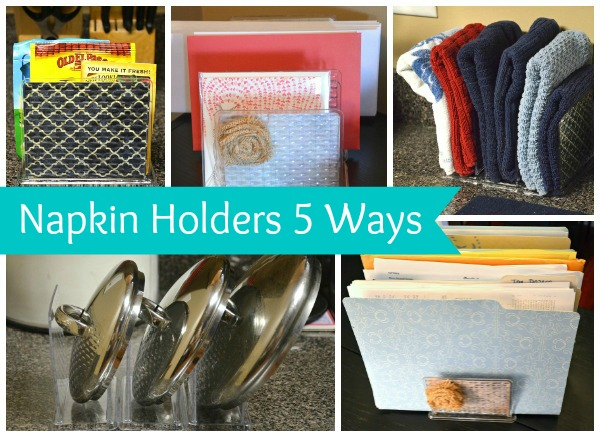 5 New Uses For Dollar Store Napkin Holders Awesome Design