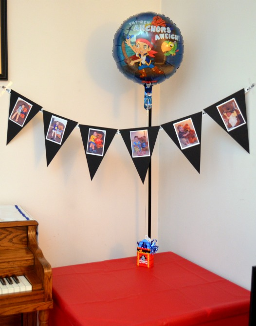 Pirate Party Photo Banner