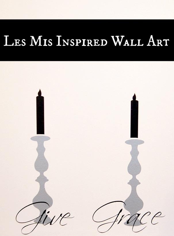 Candlestick Wall Art