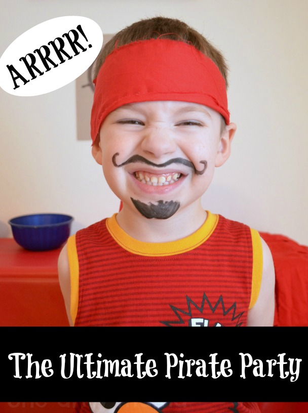 Ultimate Pirate Party @oneartsymama #pirate #party #birthdayparty