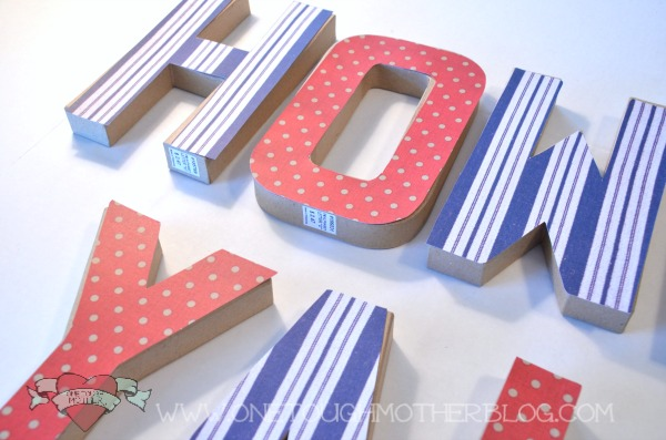 yarn wred diy wall letters kids craft room