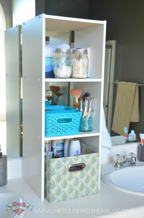 Stylish Bathroom Upgrade on a Budget One Tough Mother