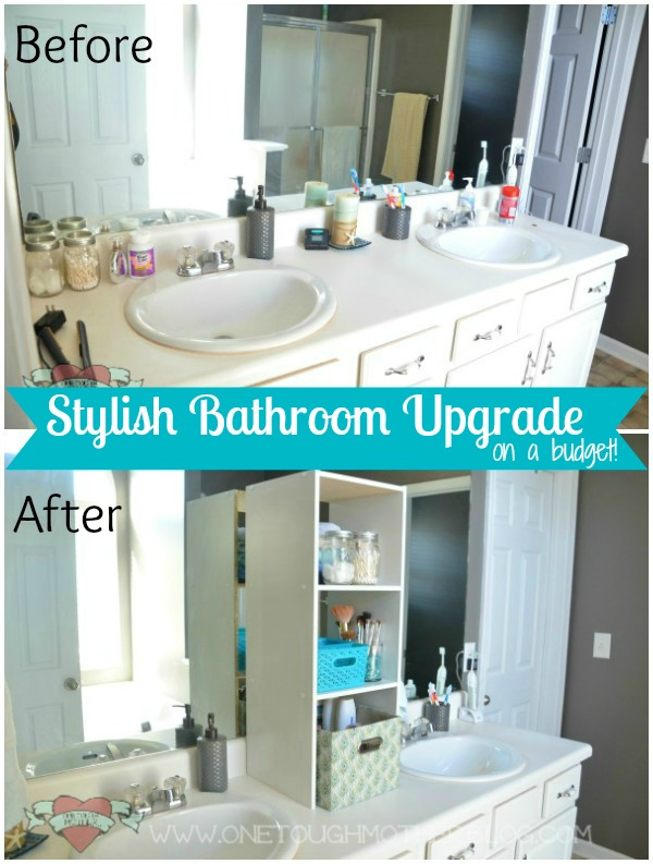 Stylish Bathroom Upgrade On A Budget Amy Latta Creations