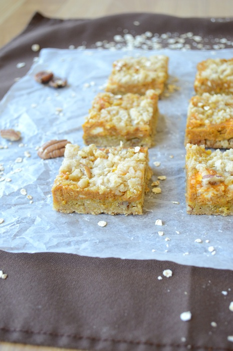 But today Pumpkin Pie Bars are on the menu!