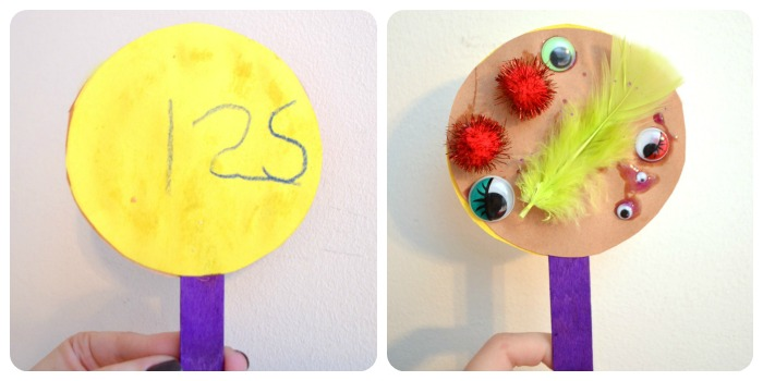 Place Value Monster Puppet