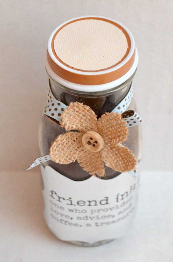 Friend Coffee Jar