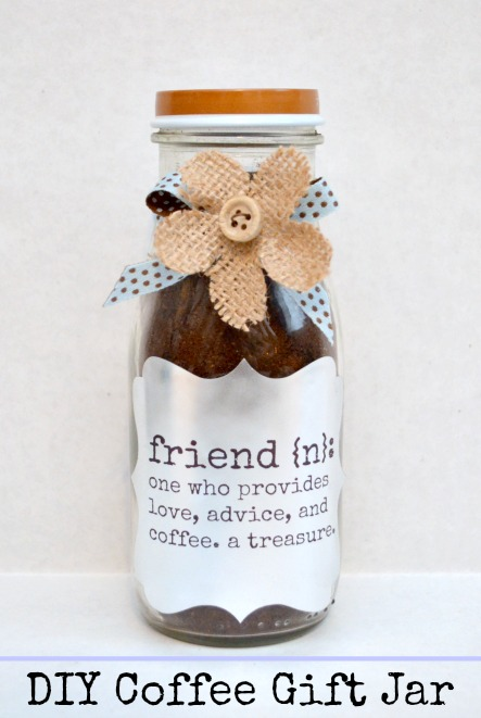 Friend Coffee Gift Jar