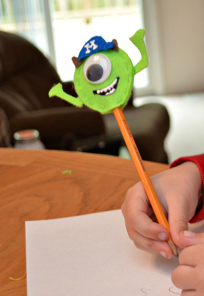 Monsters U Pencil Topper
