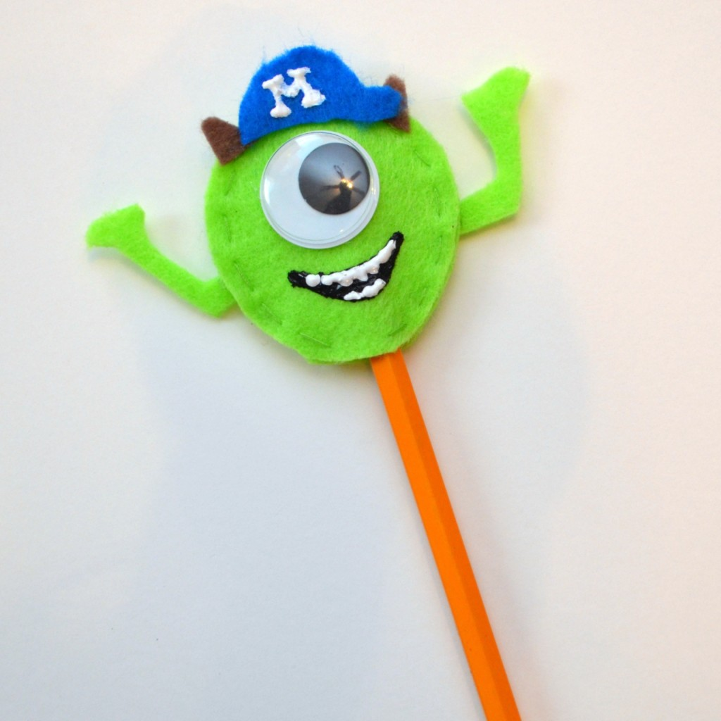 Monsters University Pencil Topper