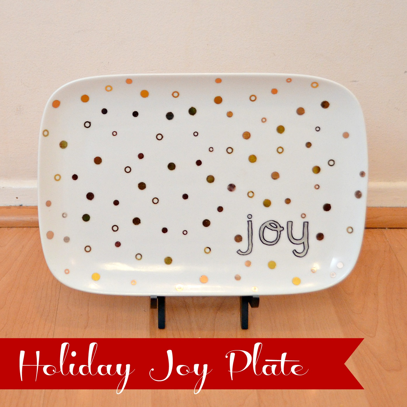 Holiday Joy Plate
