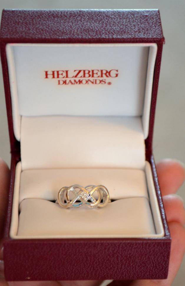 infinity x infinity ring - Helzberg Wedding Rings