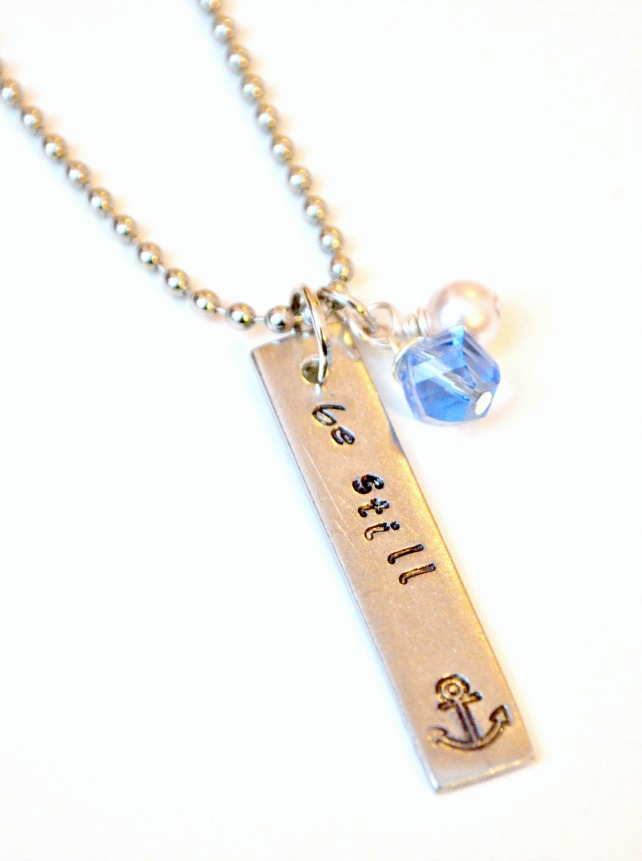 Metal Stamped Jewelry Tutorial with ImpressArt