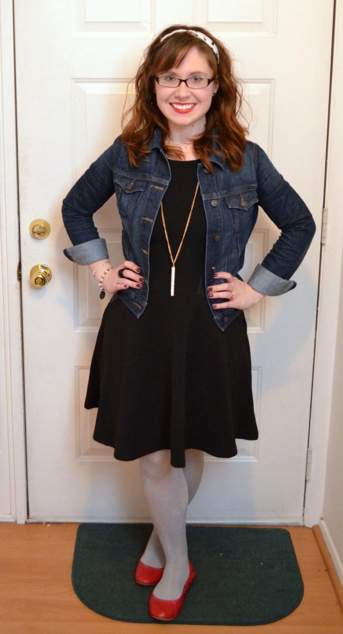 Fashion Saturday: Leather and Denim