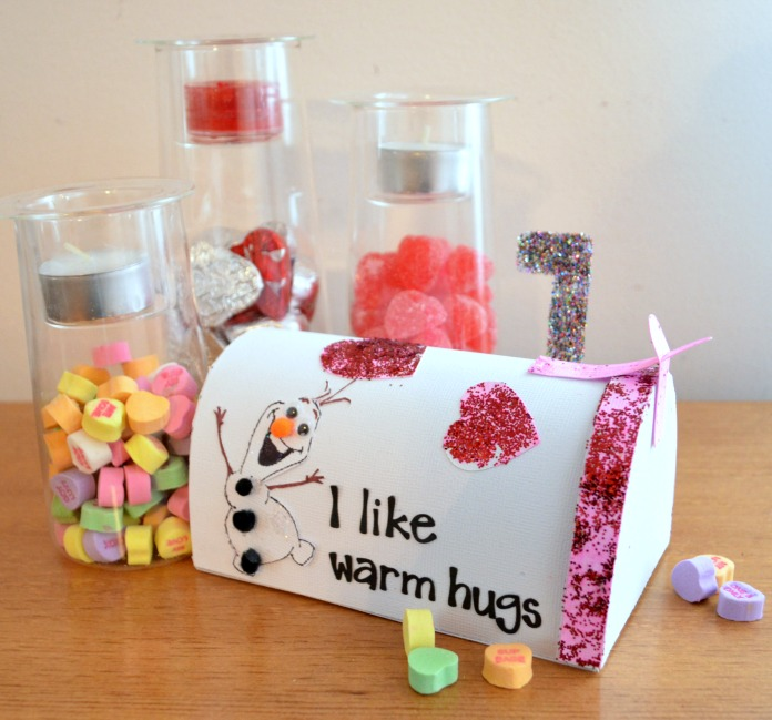 Mailbox Ideas For Valentines Valentine Mailbox With Elmer's
