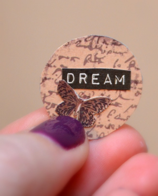 Mod Podge Dream Necklace