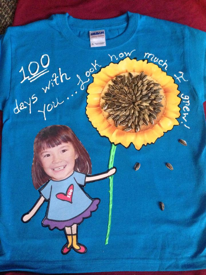 100 days of school shirt