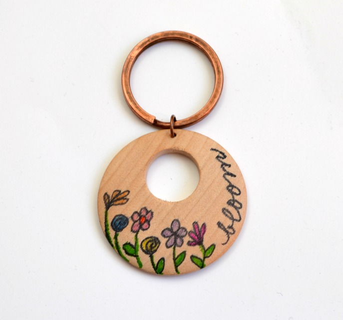 Bic Mark-It Bloom Keychain