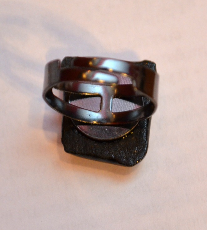Dichroic Glass Ring