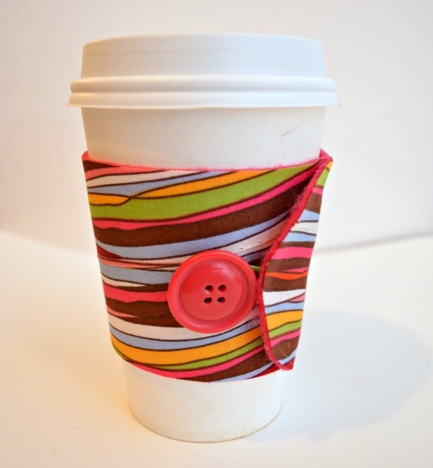 Duck Tape Coffee Cozy