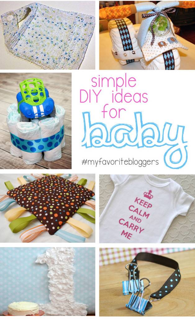 Simple DIY Ideas for Baby_March MFB collage