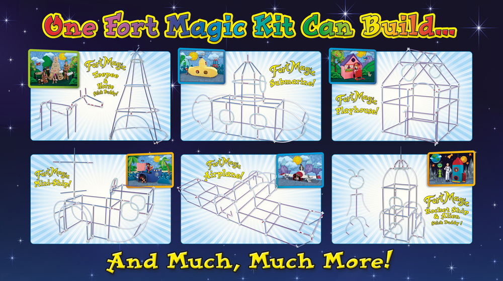Fort Magic Fort Building Kit Giveaway! - One Artsy Mama