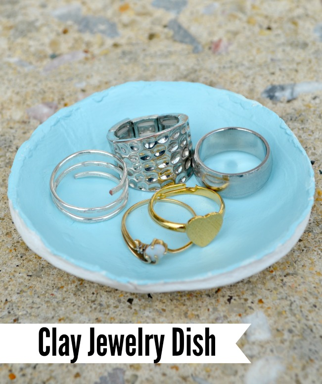 Air Dry Clay Jewelry Dish