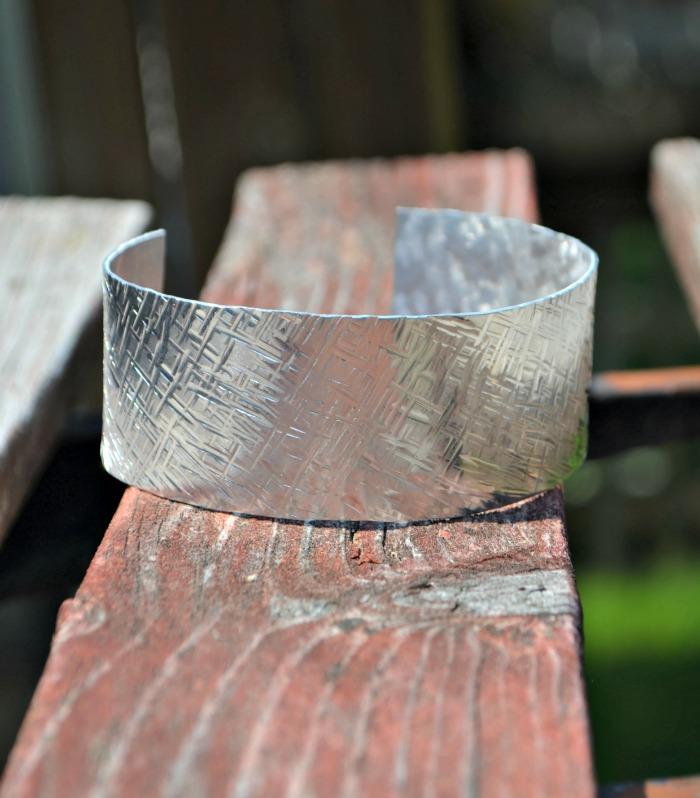Textured Stamped Cuff