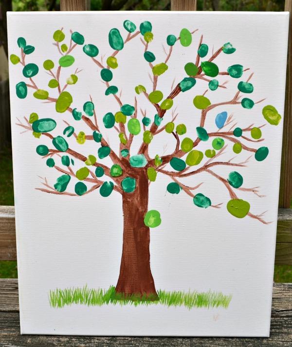 Thumbprint Canvas Art