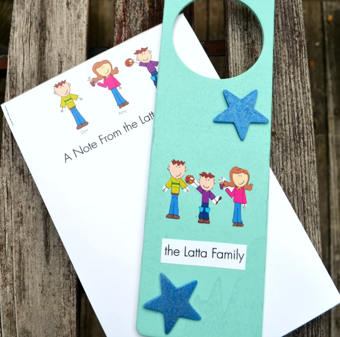 Family Door Hanger