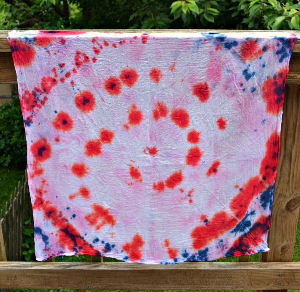 Tie Dye Kitchen Towels