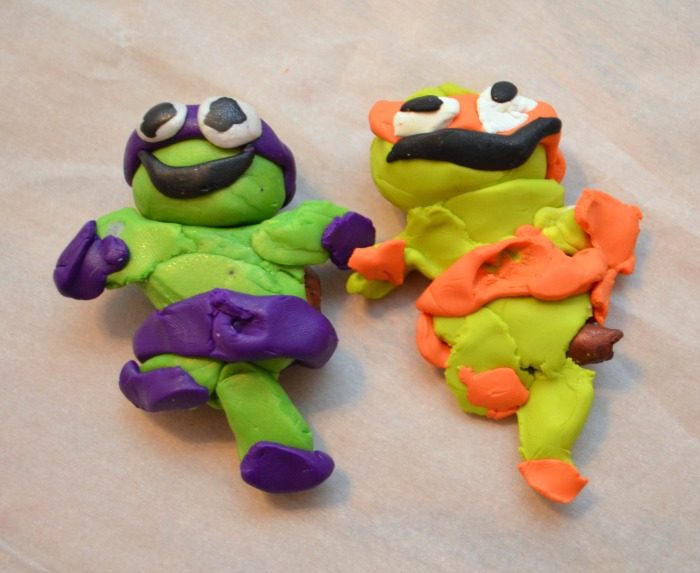 Clay Teenage Mutant Ninja Turtles