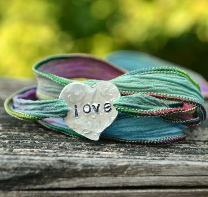 Ribbon Wrap Bracelet Amy Latta Creations