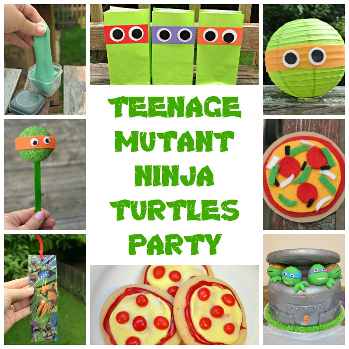 Teenage Mutant Ninja Turtles Party