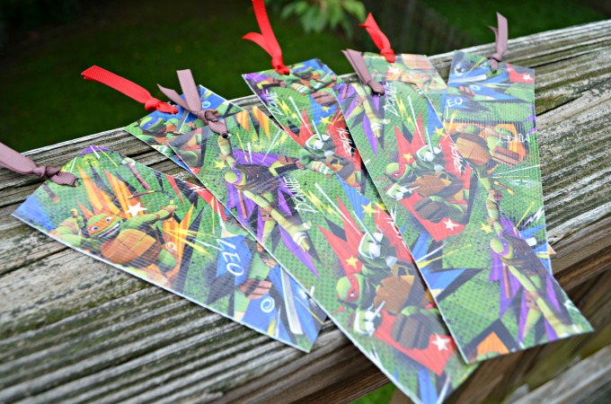Teenage Mutant Ninja Turtle Bookmarks #TMNT