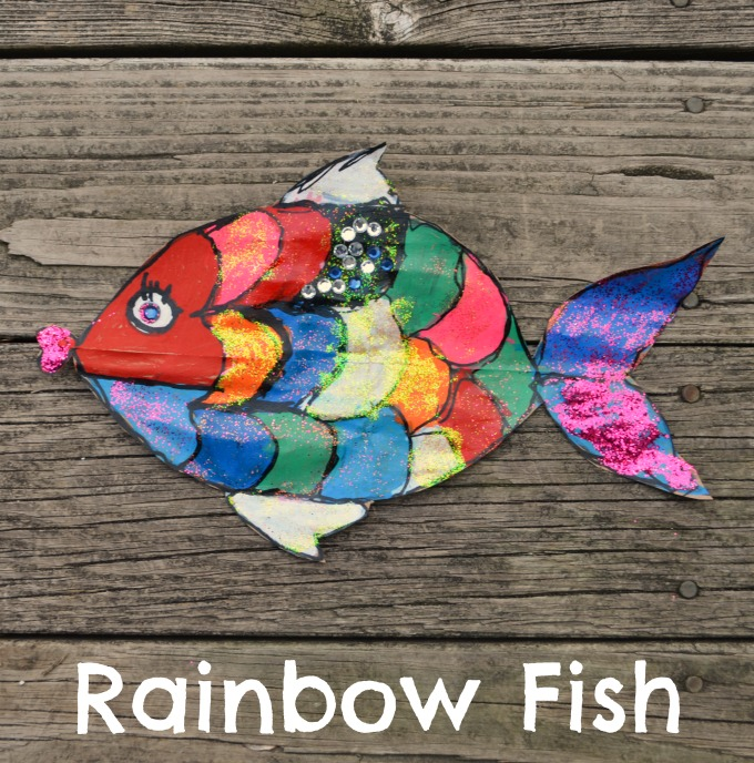 Rainbow Fish Craft For Kids Amy Latta Creations