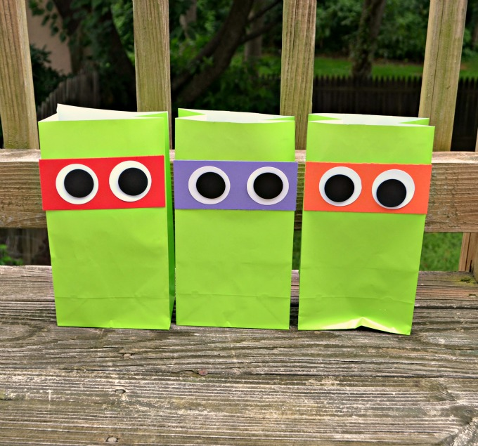 Teenage Mutant Ninja Turtles Party Favor Bags