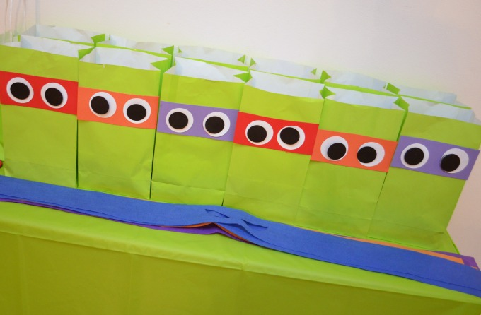 TMNT Party Decorations - One Artsy Mama
