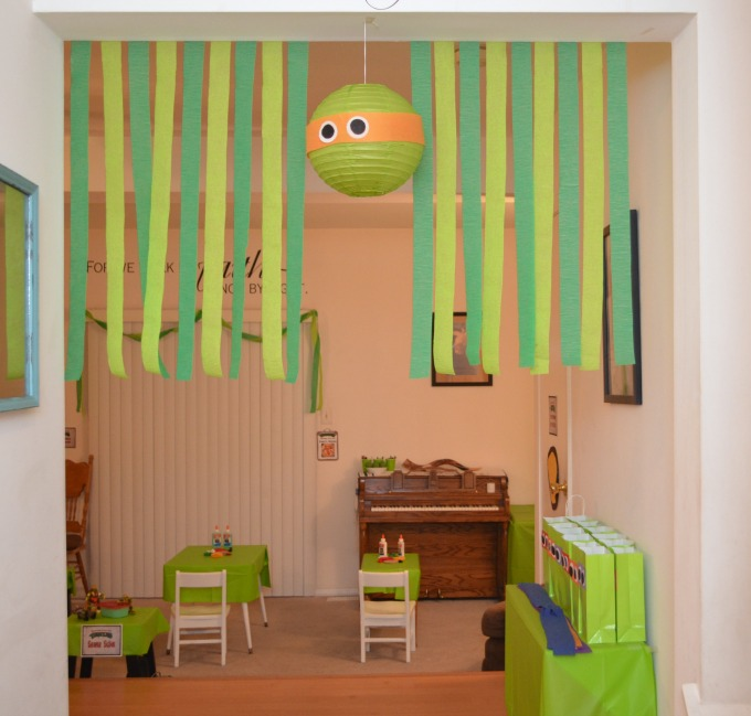 TMNT Party Decorations - Amy Latta Creations