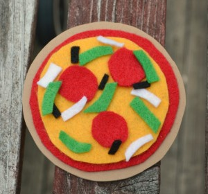 Pizza Magnets Tmnt Party Craft Amy Latta Creations