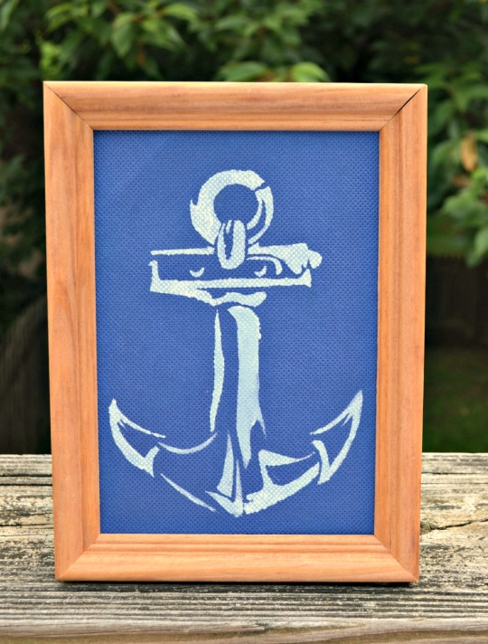 Nautical Decor with Anchor