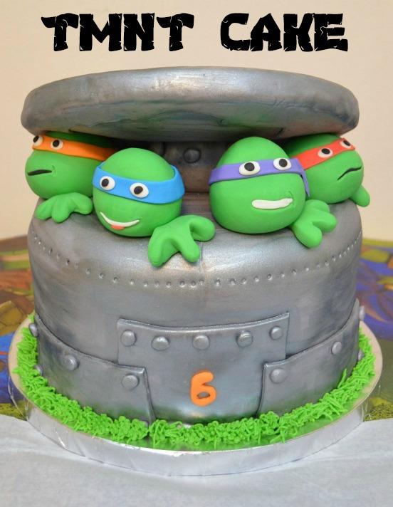 TMNT Birthday Cake Amy Latta Creations
