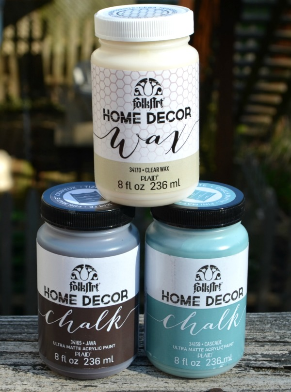 Home Decor Chalk Paint overall i really like folkart home decor chalk paint if you have a hard time finding ascp or the 32 oz can just seems to be out of your budget for a Chalk Painted End Table One Artsy Mama