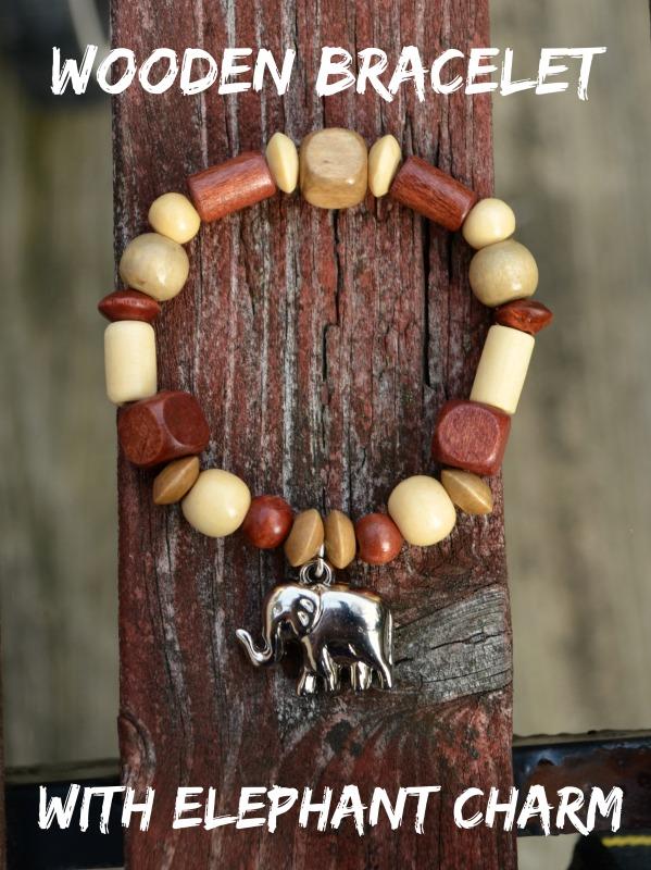 Elephant Wooden Bracelet