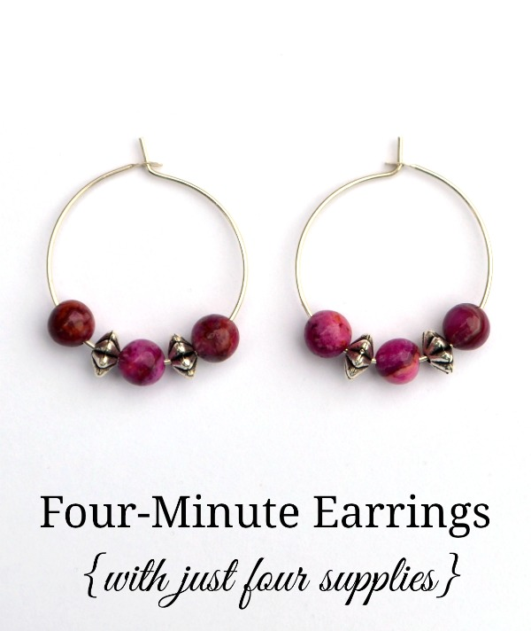 Four Minute Earrings