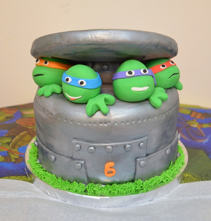 TMNT Birthday Cake Amy Latta Creations