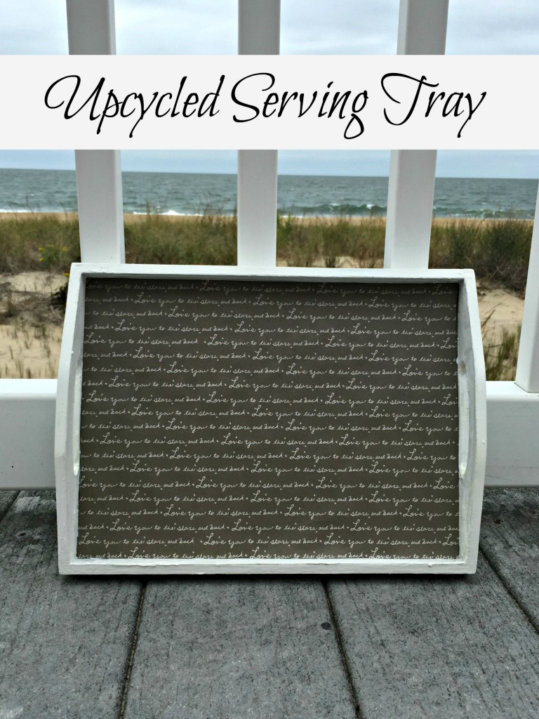 Upcycled Serving Tray
