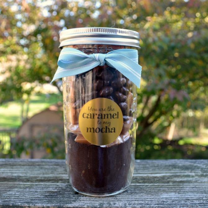 Caramel Mocha Gift in a Jar