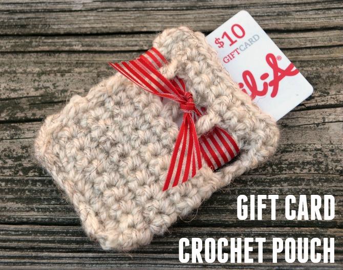 Crochet Gift Card Pouch