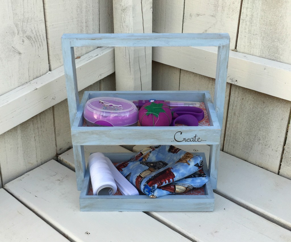 Upcycled Crafty Caddy