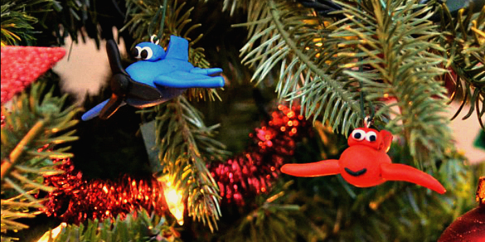 Planes Ornaments